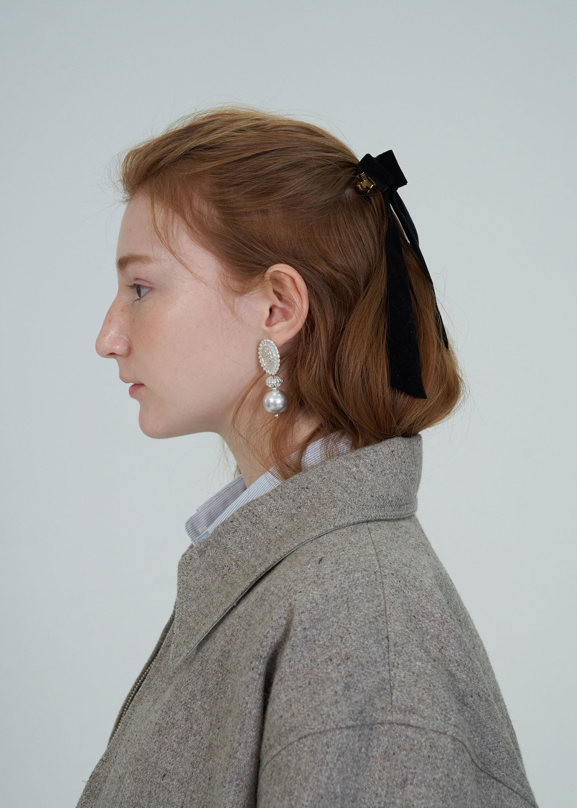 BAROQUE EARRING [2COLOR]
